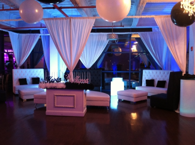 Large vip sections aviance event planning and lounge decor nj for Lounge area decor ideas