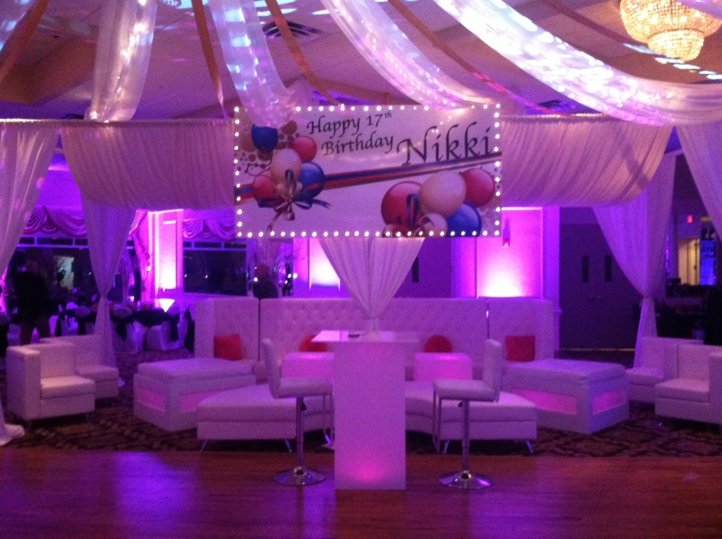 Large vip sections aviance event planning and lounge decor nj for Lounge designs