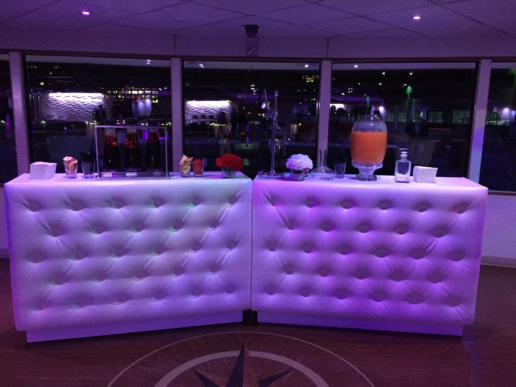 Portable Led Bars Aviance Event Planning And Lounge Decor Nj