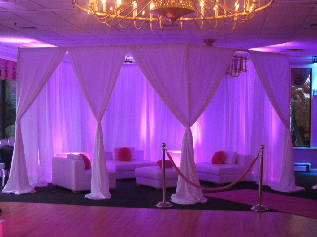 Small vip sections aviance event planning and lounge decor nj - Lounge deco ...